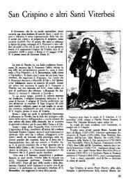 S.Crispino e altri Santi Viterbesi - Biblioteca consorziale di Viterbo