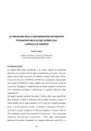 l'approccio europeo. (Ettore Capri) - Ministero dell'Ambiente