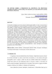 Um estudo sobre a percepção da eficiência em processos ...
