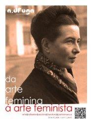 Da arte feminina á arte feminista Santiago de Compostela abril-maio