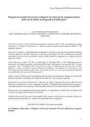 Proposta Stato-Regioni: Precedente Bozza - FederLab Italia