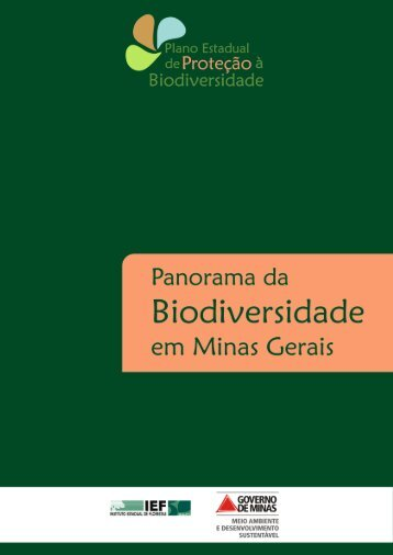 Panorama da Biodiversidade em Minas Gerais - 1ª Atualização - IEF