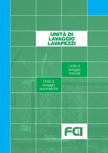 UNITÀ DI LAVAGGIO LAVAPEZZI - Forniture chimiche industriali