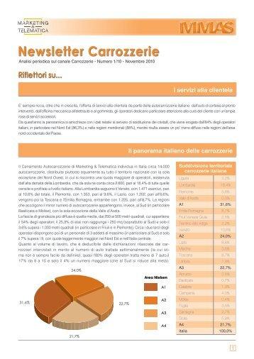 01/10 Carrozzerie - Marketing & Telematica