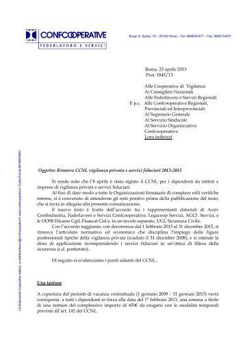 ccnl vigilanza privata 06 12 uiltucs campania On ccnl vigilanza privata e servizi fiduciari