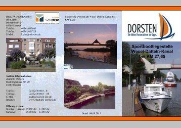 Deutsch - WINDOR Wirtschaftsförderung in Dorsten