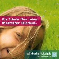 Info PDF zum herunterladen - Windrather Talschule