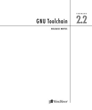 TORNADO GNU Toolchain - Wind River