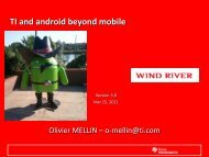 TI Android Development - Wind River
