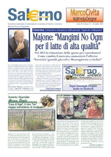 26 Aprile 2013 - Salerno Economy