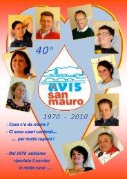 Scarica il libretto - AVIS Provinciale Torino