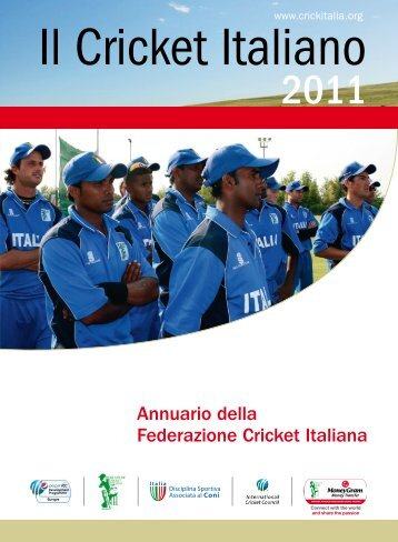Annuario 2011 - Federazione Cricket Italiana