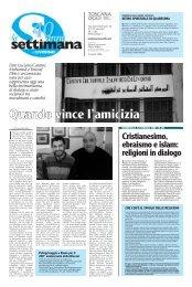 Cristianesimo, ebraismo e islam: religioni in dialogo - Webdiocesi