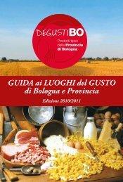 GUIDA ai LUOGHI del GUSTO di Bologna e Provincia - DegustiBO