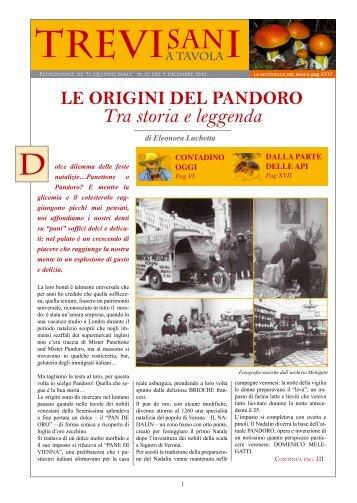 """Copia PDF de """"Trevisani a Tavola"""" per tutti - Oggi Treviso"""