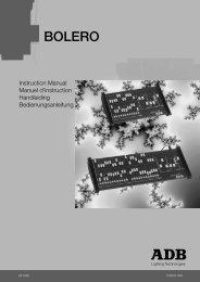 BOLERO - ADB Lighting Technologies