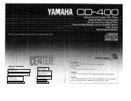 CD-400 - Yamaha