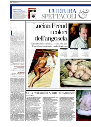 Pages from La.Stampa.22.07.11.lucian freud - Michele Sabatino