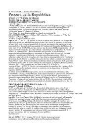 la prima parte delle intercettazioni - pdf - Il Secolo XIX