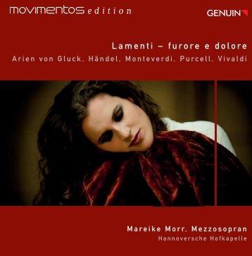 Lamenti – furore e dolore - Naxos Music Library