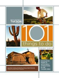 101 things to do in tucson! - Embassy Suites - Hilton