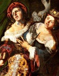 16. Pseudo Caroselli, La morte di Cleopatra, olio su ... - Palazzo Chigi