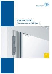 activPilot Control - Winkhaus