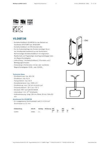 Datenblatt activPilot control - Winkhaus