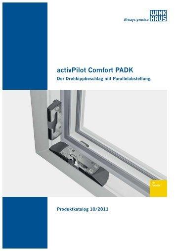 activPilot Comfort PADK - Winkhaus