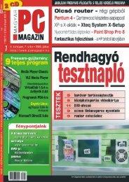 Magyar PC Magazin – 2003. július