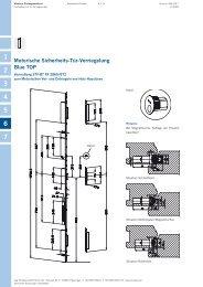 Motorische Sicherheits-Tür-Verriegelung Blue TOP - Winkhaus
