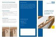 Flyer activPilot Concept Holz - Winkhaus
