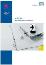 activPilot SKG - Sicherheitsfenster Kunststoff
