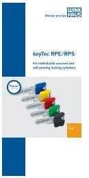 keyTec RPE/RPS - Winkhaus
