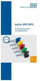Flyer keyTec RPE/RPS - Winkhaus