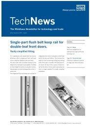 TechNews - Winkhaus
