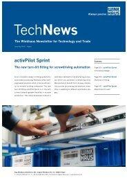 TechNews activPilot Sprint - Winkhaus