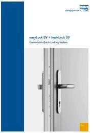 easyLock SV + hookLock SV - Winkhaus