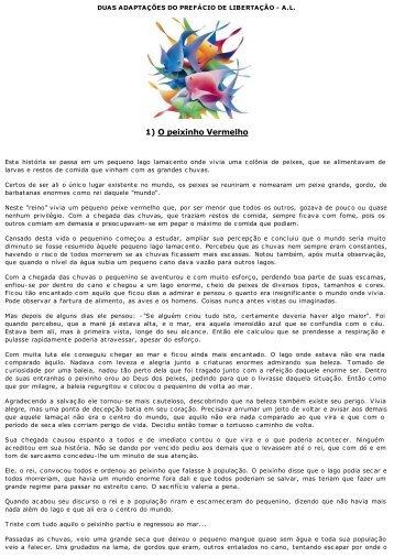 [#0375] Duas adaptações Prefacio livro Libertaçao - cvdee