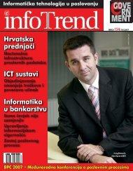 Hrvatska prednja~i ICT sustavi Informatika u bankarstvu - Infotrend