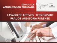 Prevención de Lavado de Activos- Fraude-Terrorismo