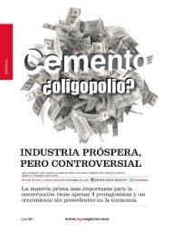 Cemento ¿oligopolio?.Revista Ekos. Edicion 214 ... - Ekos Negocios