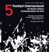 CATÁLOGO 5 FIMCCL 6 nov imprenta - Centro Cultural de España