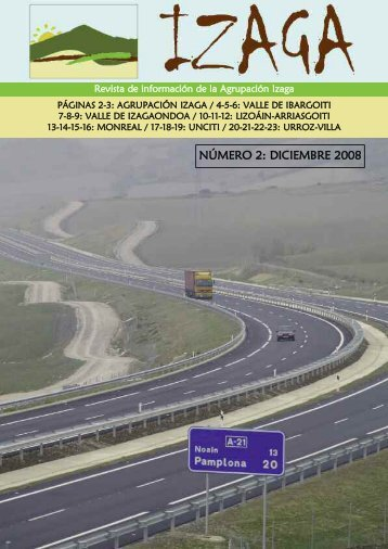 NÚMERO 2: DICIEMBRE 2008 - Mancomunidad de Servicios ...