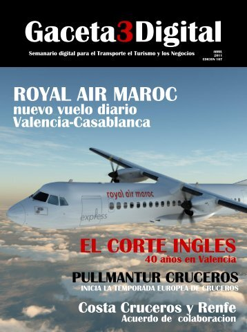 ROYAL AIR MAROC EL CORTE INGLES - Gaceta3.com