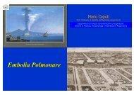Embolia Polmonare - II Università degli Studi di Napoli