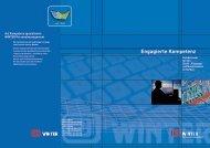 Engagierte Kompetenz - Alfons Winter 3D-Konstruktions GmbH