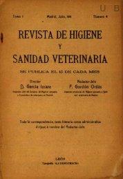 REVISTA DE HIGIENE SANIDAD VETERINARIA - DDD (UAB)