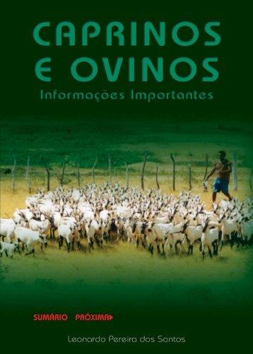 Caprinos e Ovinos - Informações Importantes - Projeto Aprisco ...