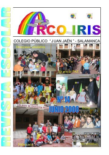 "Revista escolar ""Arco Iris"", nº 14 - CEIP Juan Jaén - Junta de ..."